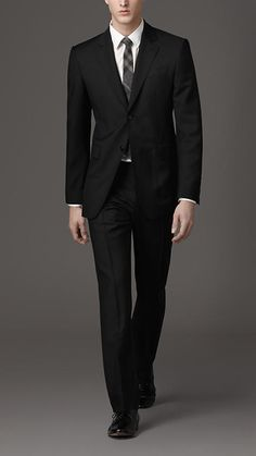 Burberry - Classic Fit Wool And Mohair Suit