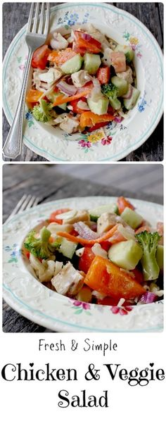 A fresh and simple salad