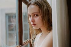 Lily-Rose Depp Poses for an Intimate New Photoshoot Inspired By Her Mother, Vanessa Paradis | W Magazine