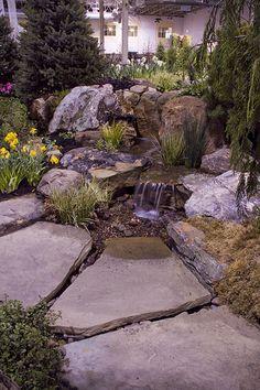 bachlauf wasserfall gartenteich bachlaufschalen set iii: amazon.de, Garten und erstellen