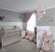 Baby Girl | Nursery | Grey White & Pink | Love © Matt Ramos Photography