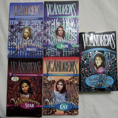 Wildflowers Series VC Andrews Lot of 5 Paperback Misty Star Jade Cat Into Garden