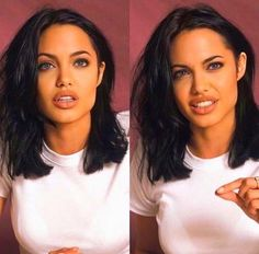 Angelina Jolie - The Effective Pictures We Offer You About diy A quality picture can tell you many things. Angelina Jolie Short Hair, Angelina Jolie Makeup, Medium Hair Styles, Short Hair Styles, Grunge Hair, Hairstyles With Bangs, Modern Bob Hairstyles, Hair Looks, Hair Inspo