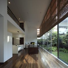 Completed in 2015 in Colombo, Sri Lanka. Images by Eresh Weerasuriya. Designed as a family residence for two doctors and their two daughters this five bedroom residence also has an attached annex for any visiting...