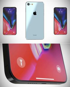 iPhone SE 2018 Gets Rendered Adds a Bezel-less OLED Display and Face ID