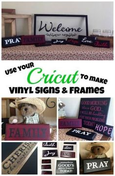 My Cricut Closet: More Signs With Cricut and Vinyl by Lisa Lawson Z03mq