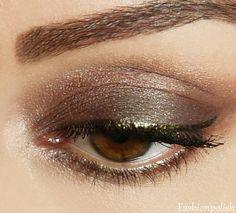 black gold eyeliner!