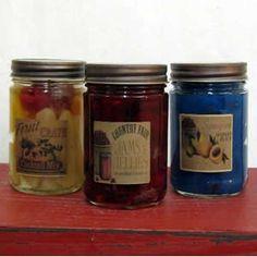 Gel Candles Gel Candles, Jar, Food, Essen, Meals, Yemek, Jars, Eten, Glass