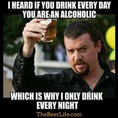 Just every night :)