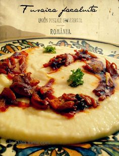 all about good food Romanian Food, Romanian Recipes, Grain Free, Dairy Free, Raw Vegan, Camembert Cheese, Mashed Potatoes, Good Food, Paleo