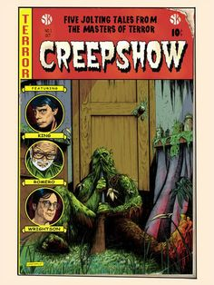 """Le Bouquinovore: """"King for a Day"""" Exposition dédiée a Stephen King Creepshow by Nathan Chesshir"""