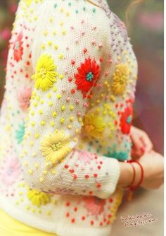 knits decorating idea