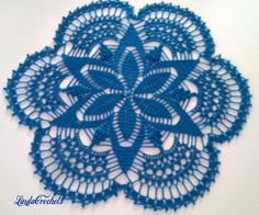 Linda Crochets: No name for this doily