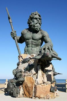 The King Neptune Statue, Virginia Beach, Virginia