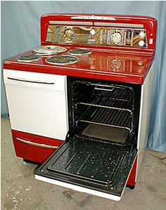Vintage Electric Stoves On Pinterest Electric Stove