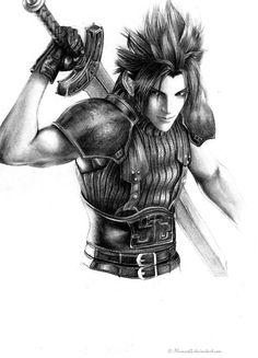 Final Fantasy Zack. By, PlumCak3.