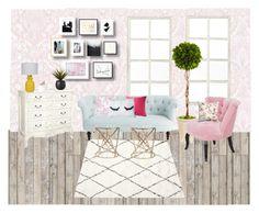 """""""Interior design #2"""" by naleland on Polyvore featuring interior, interiors, interior design, dom, home decor, interior decorating, Graham & Brown, Piet Hein, nuLOOM i Ballard Designs"""