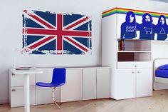 Dai colore alle tue pareti senza bisogno di vernici e tinteggiature con gli adesivi murali.