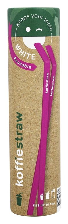 Save on Reusable Silicone 7 Inch Coffee Straws Plum by Koffie Straw and other Stocking Stuffers, Coffee Accessories, Straws at Lucky Vitamin. Shop online for Teas & Coffee, Natural Home, Gift Ideas, Koffie Straw items, health and wellness products at discount prices.