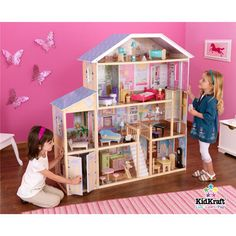 wooden barbie doll house - Bing Images