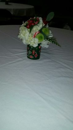 Centerpieces for the church christmas party