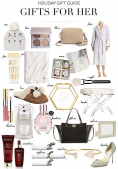 Holiday Gift Guide: Gifts for Her Christmas Gift Guide, Christmas Gifts For Her, Gifts For Mum, Holiday Gifts, Trending Christmas Gifts, Teen Girl Gifts, Inspirational Gifts, Creative Gifts, Boyfriend Gifts