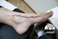 tattoo letter ink