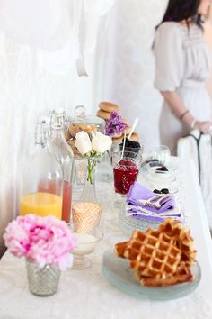 Fabulously Styled Bridal Brunch – Don't Frett Photography. decor and styling was done by Phebe of Making ME Event Planning based out of Massachusetts http://www.makingmeepf.com/#!about-phebe