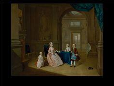 Children in an Interior by Arthur Devis c. 1743(Yale Center for British Art