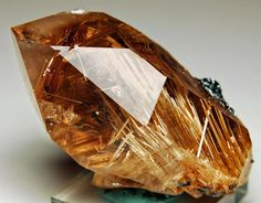 Rutilated Quartz.