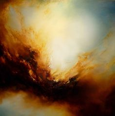 "Saatchi Online Artist: Simon Kenny; Oil, 2013, Painting ""The Fallen"" This is the moment I got abstract art"