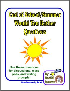 End of the School Year Ideas, Activities, and Freebies Link Up | Minds in Bloom