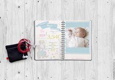 Купить Электронные страницы для блокнота Мамины Заметки,Бэбибука - Скрапбукинг, ручная работа, малыш, комбинированный