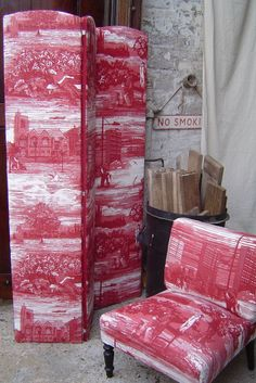 Timorous Beasties - Fabric - Glasgow Toile