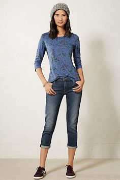 Cuffed tee t.la #anthropologie