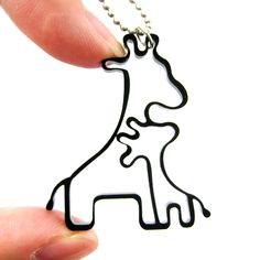 Mother-and-baby-giraffe-outline-shaped-pendant-necklace-in-black-acrylic-dotoly_original