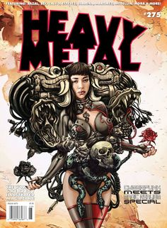 Billedresultat for heavy metal magazine novel