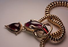 Mid 19th Century Snake Necklace - Victorian Jewelry - Antique Jewelry | Vintage Rings | Faberge Eggs