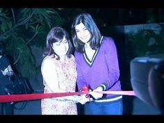 Sushmita Sen inaugurates new branch of Sohum Spa.