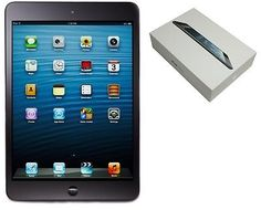 "Apple iPad Mini 1st Generation A1432 7.9"" LED-Backlit 16GB WiFi Only Tablet - Bl"