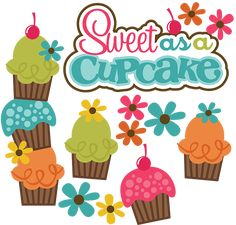 Sweet As A Cupcake SVG cute svg files for scrapbooking free svg files cupcake svg file