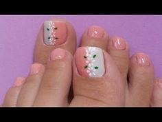 francesa Super manicure francesa pes ideas Super French Manicure Ideas Weight to Manicure Colors, Pedicure Nail Art, Pedicure Designs, Toe Nail Designs, Toe Nail Art, Nail Colors, Manicure Ideas, Cute Toe Nails, Pretty Nails