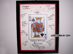 poker theme guest book - Google Search