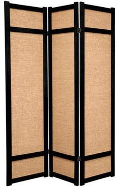 Oriental Furniture 6u0027 Tall Jute Shoji Screen Wooden Room Dividers, Cheap  Room Dividers,