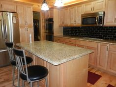 Granite Counter Top Installation Phase 2 – It is finished! - News - Bubblews