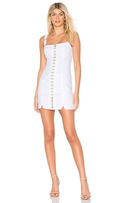 68491a500d online shopping for For Love   Lemons Monika Hook Front Mini Dress from top  store. See new offer for For Love   Lemons Monika Hook Front Mini Dress
