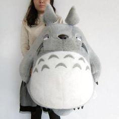 My Neighbor Totoro Cushion Big Totoro Nap Style Ghibli Plush Doll New from Japan