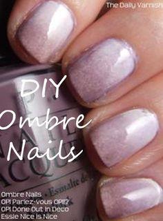 DIY Ombre Nails