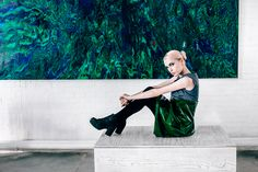 "Photographer: Nastya Openysheva Artist: Anisiforov Sergey Stylist: Oksana Andreeva Molel: Mila Fashion design: CONTRACODE Location: ""Sahar""  #CONTRACODE #fashion #contrast #art"