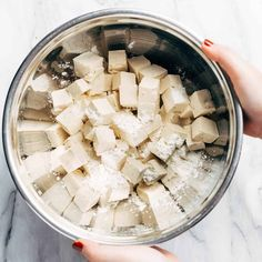 How to Cook Tofu! Our four go-to ways to prepare tofu: baked, sautéed, fried, and scrambled. Perfect for a variety of meals. YUM! #tofu #howto #vegan #vegetarian Firm Tofu Recipes, Vegetable Recipes, Vegan Vegetarian, Feta, Fries, Healthy Eating, Cooking Recipes, Meals, Baking